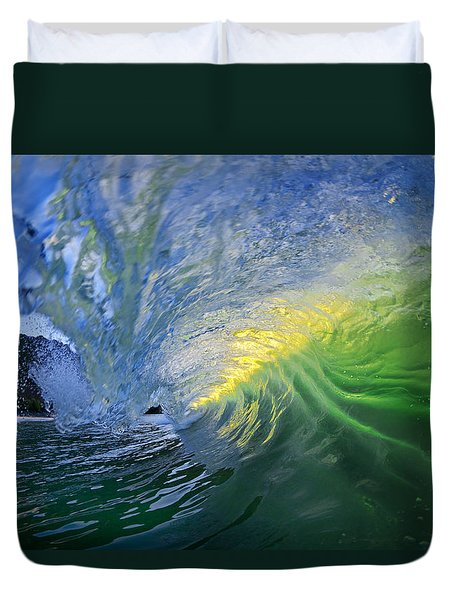 Limelight Duvet Cover by Sean Davey