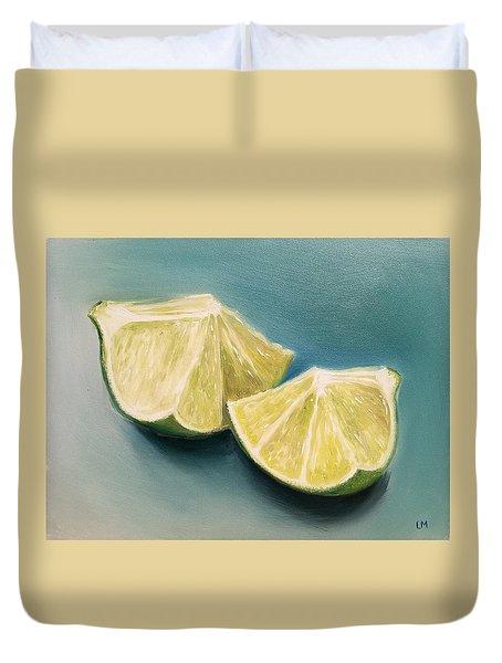 Limes Duvet Cover