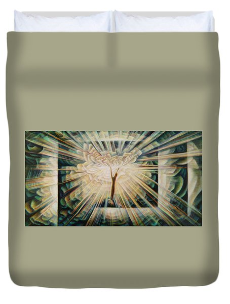 Limitless Duvet Cover by Nad Wolinska