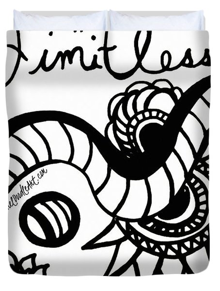 Limitless Duvet Cover