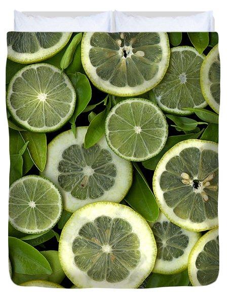 Limons Duvet Cover