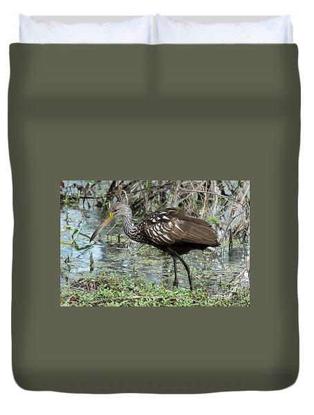 Limpkin Duvet Cover