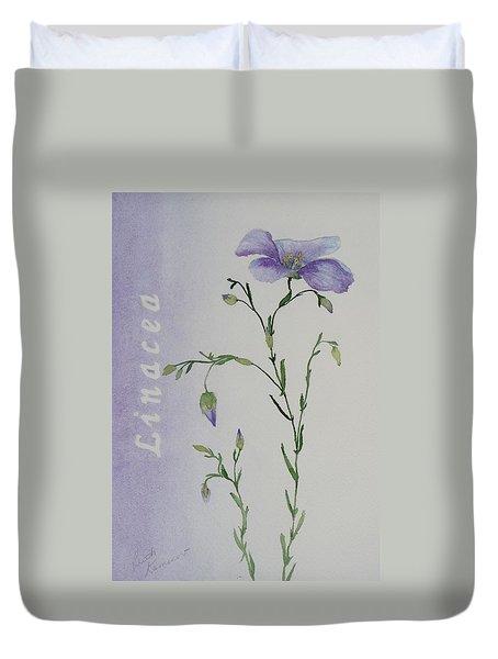 Linacea Duvet Cover