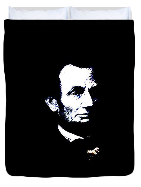 Lincoln Always With Us Duvet Cover