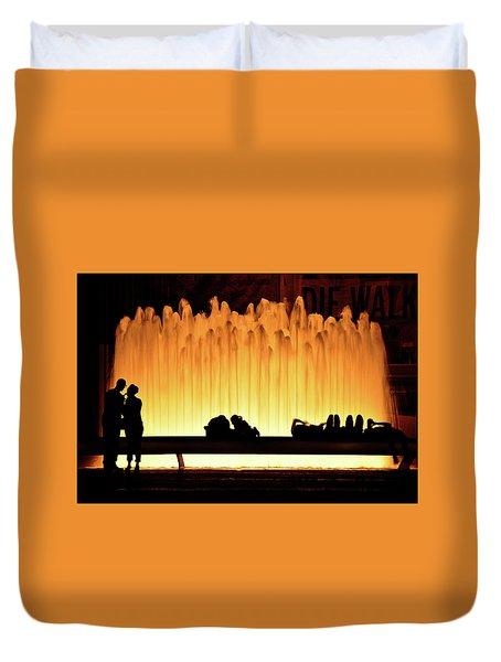 Lincoln Center Fountain Duvet Cover