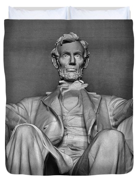 Lincoln Memorial Duvet Cover by Kyle Hanson