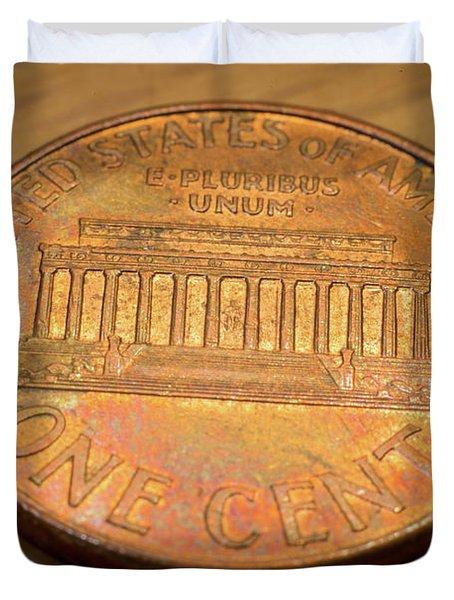 Lincoln Penny Duvet Cover