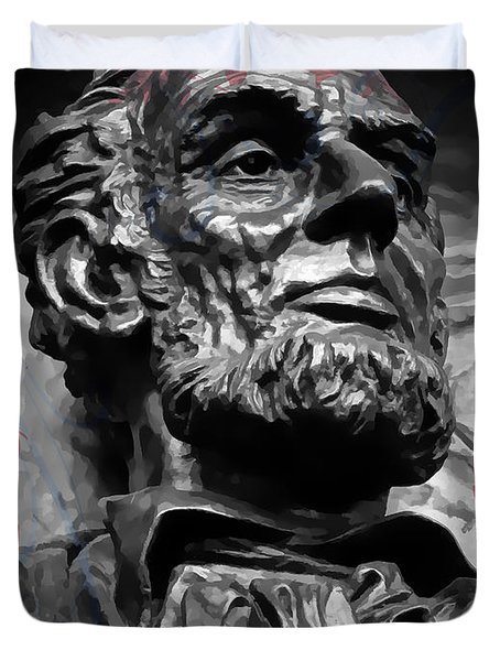 Lincoln Stoic Duvet Cover
