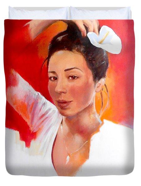 Linda Lightbody Duvet Cover
