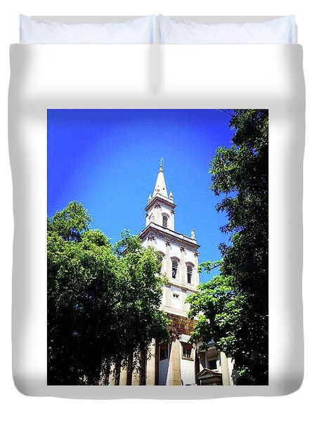 The Church Duvet Cover