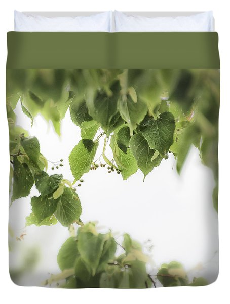 Linden In The Rain 2 -  Duvet Cover
