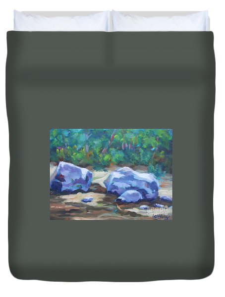 Lindenlure Duvet Cover by Jan Bennicoff