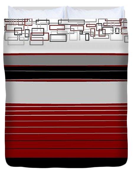 Lines 3 Duvet Cover