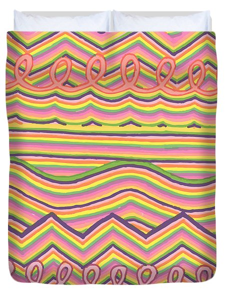 Lines Galore Duvet Cover