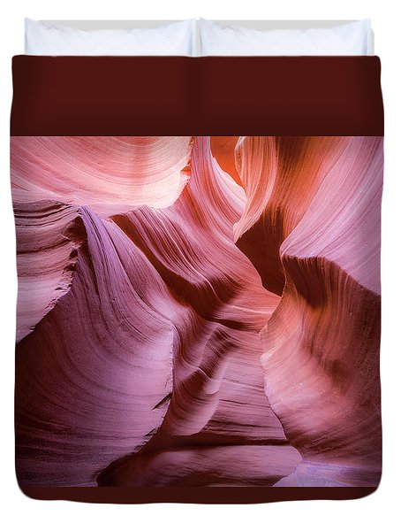 Lines In The Canyon Duvet Cover