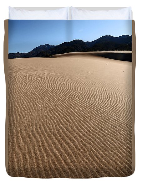 Lines In The Sand Duvet Cover