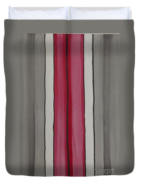 Lines Duvet Cover by Jacqueline Athmann