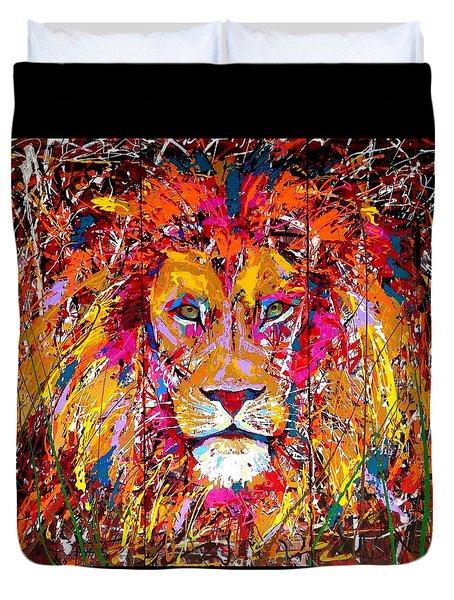 Lion 4 Duvet Cover