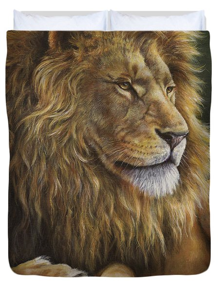 Lion Around Duvet Cover