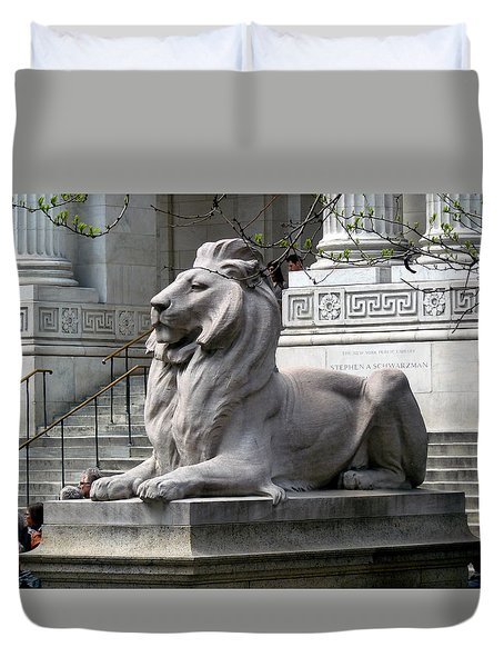 Lion Guards Literature Duvet Cover