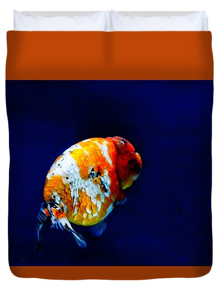 Lion Head Goldfish 2 Duvet Cover