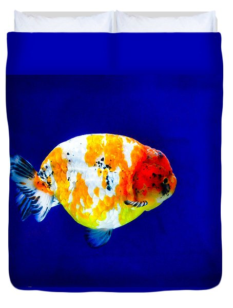 Lion Head Goldfish 3 Duvet Cover