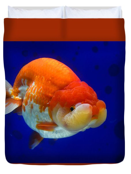 Lion Head Goldfish 4 Duvet Cover