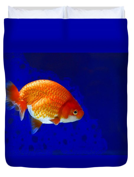 Lion Head Goldfish 6 Duvet Cover