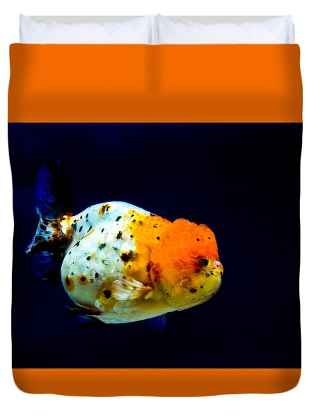 Lion Head Goldfish Duvet Cover