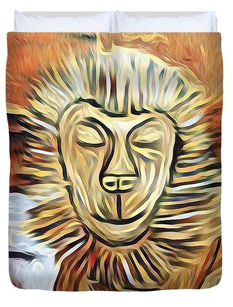Lion Of Judah II Duvet Cover