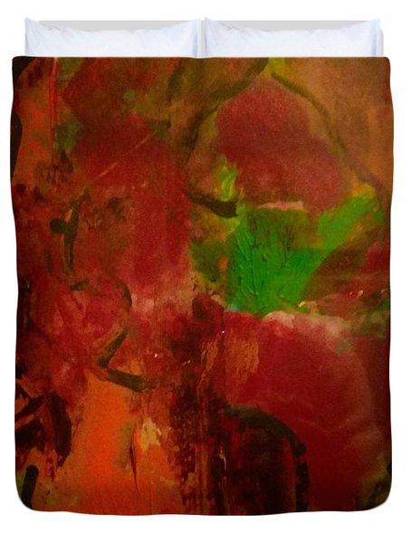 Lion Proile Duvet Cover