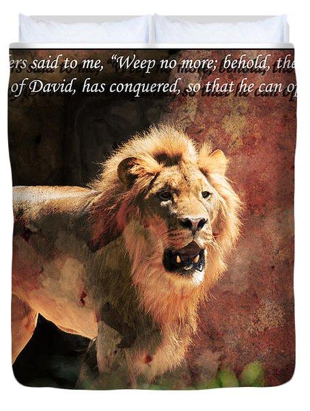 Lion Revelation 5 Duvet Cover