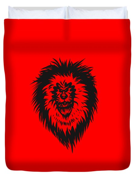 Lion Roar Duvet Cover