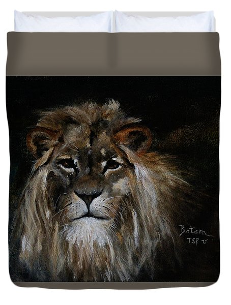Sargas The Lion Duvet Cover