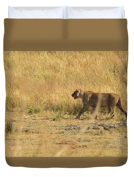 Lion Stroll Duvet Cover