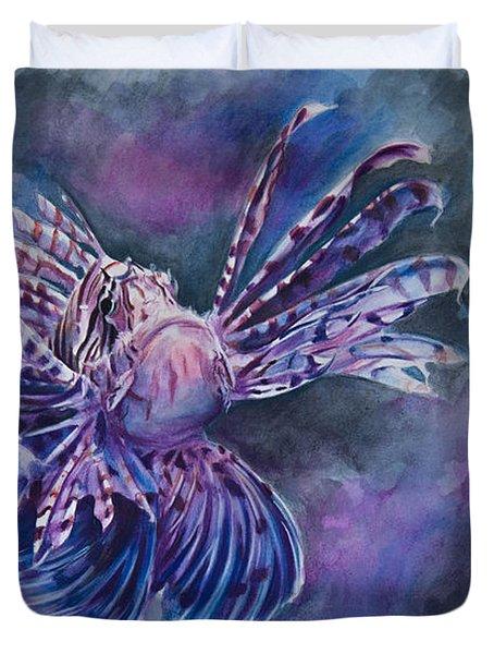 Lionfish Duvet Cover