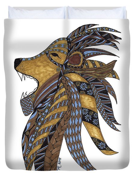 Roar Duvet Cover