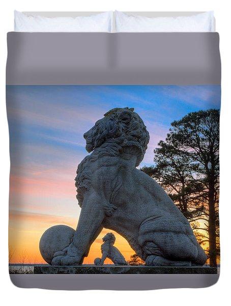 Lions Bridge At Sunset Duvet Cover