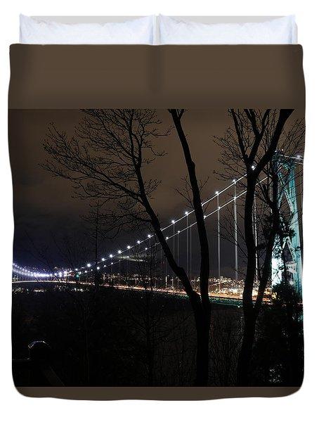 Lions Gate Bridge Duvet Cover