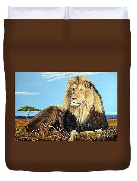 Lions Pride Duvet Cover