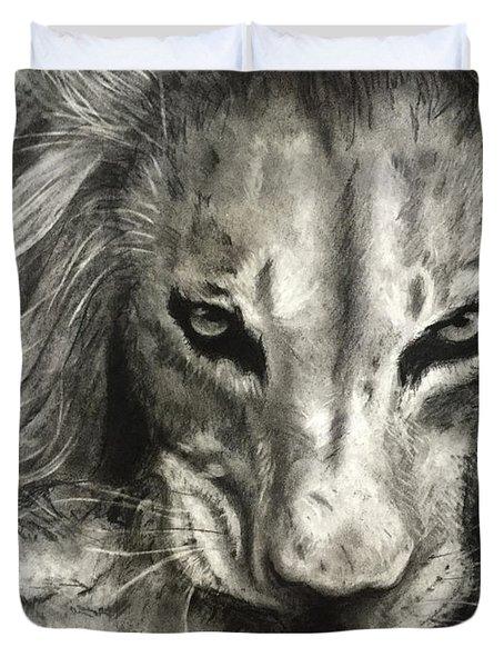 Lion's World Duvet Cover