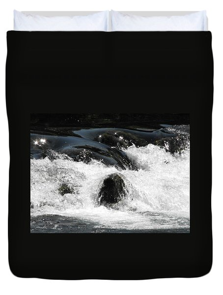 Liquid Art Duvet Cover