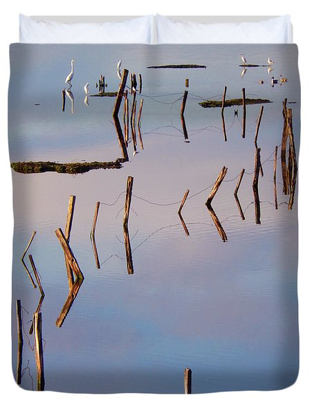 Liquid Assets Duvet Cover