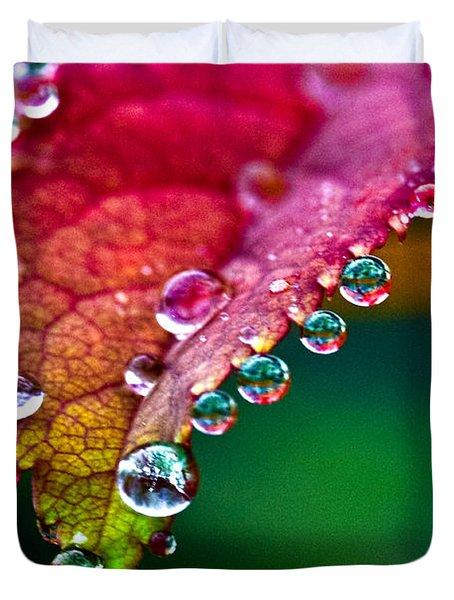 Liquid Beads Duvet Cover