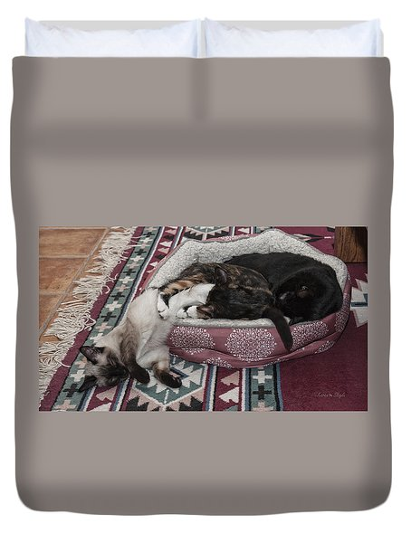 Liquid Cat Duvet Cover