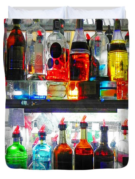 Liquor Cabinet Duvet Cover