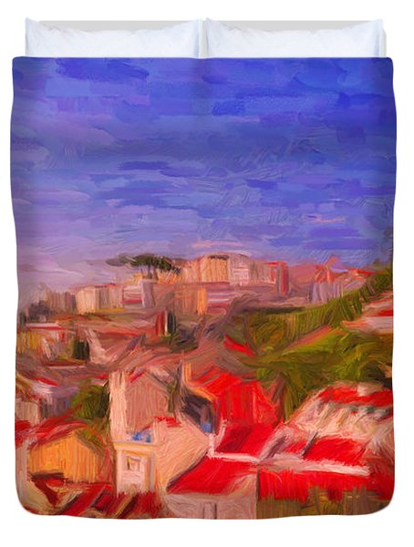 Lisbon 1 Duvet Cover
