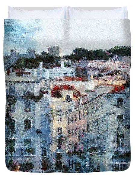 Lisbon Street Duvet Cover