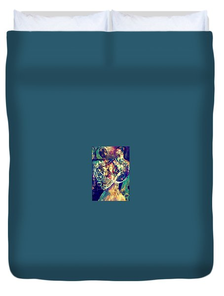 Listen To Your Heart Duvet Cover
