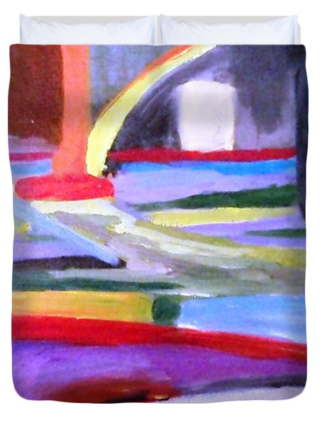 Little Acrylic Duvet Cover by Jamie Frier
